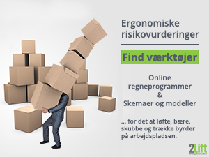ergonomic assessment tools manual handling dk